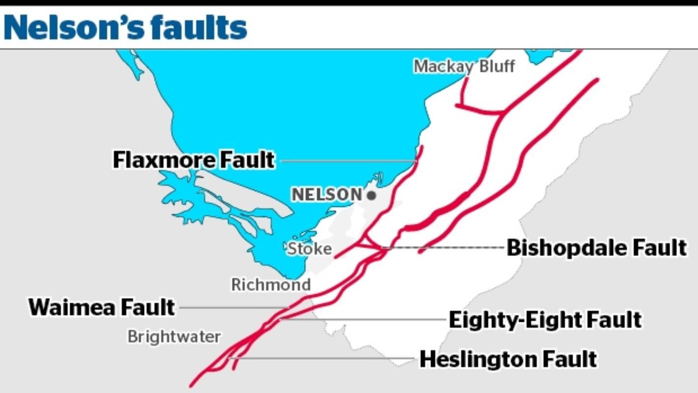 Nelson nz map