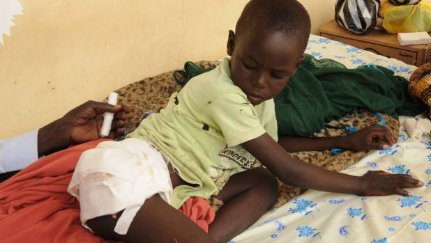 There are fears fighting in South Sudan could turn to genocide, with reports of soldiers hacking children with machetes, ...