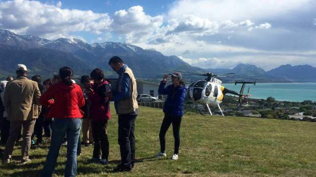 An estimated 1000 tourists were evacuated from the quake-stricken town of Kaikoura in the first week.