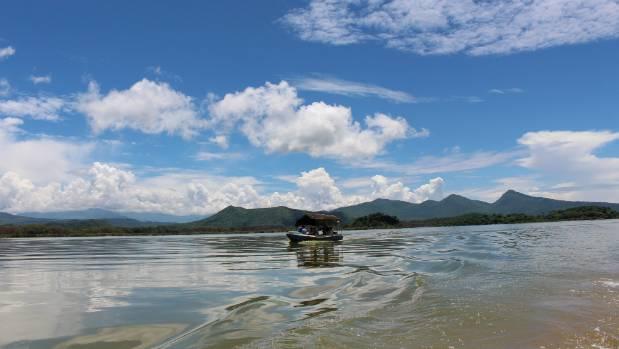 Lake Chamo in southern Ethiopia.