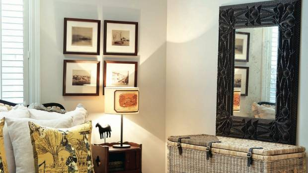 """""""There is a mirror for every taste, whether modern, or classic,"""" says designer Donna White."""