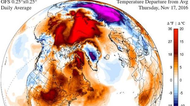 Human-caused climate change causes unprecedented Arctic heatwave ...