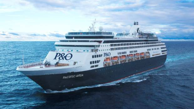 Wellington Set To Welcome Pacific Aria After Cruise Berth