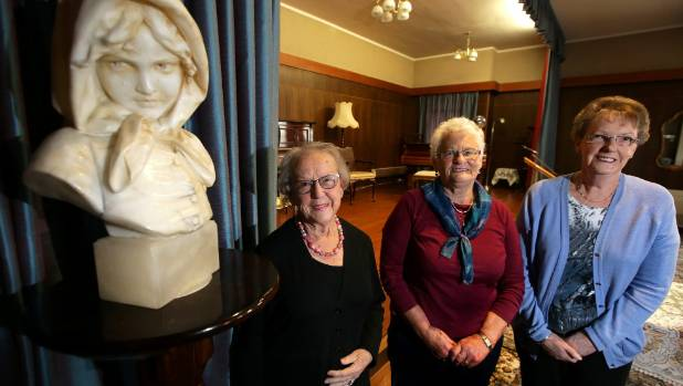 Women's Club members, from left, Frances Tait, Shirley Clarke, and Jean McWilliam, at the Invercargill club.
