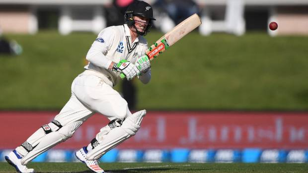 Henry Nicholls didn't make a big impression in the two home tests.