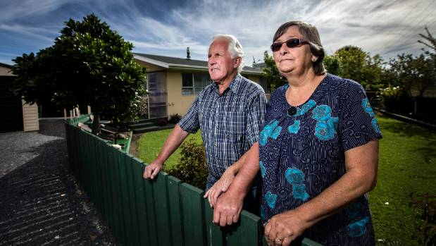 Darrel and Diane Edkins came off relatively unscathed but they feel for their neighbours, whose homes face an uncertain ...