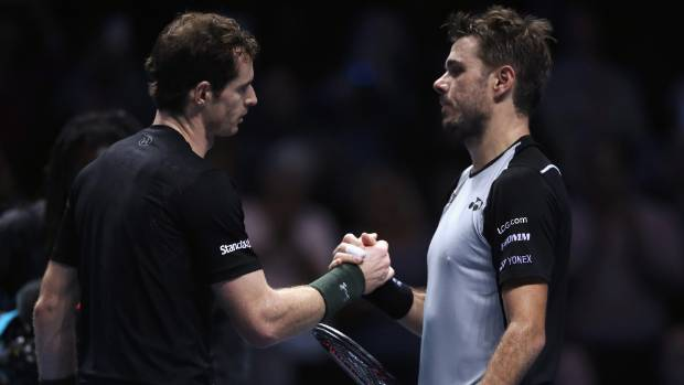 Murray beats Wawrinka, advances to semifinals at ATP finals