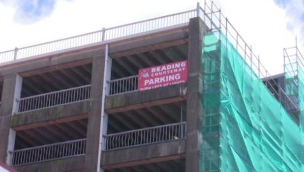 The Reading Cinema car parking building in Wellington will be pulled down with cars still trapped inside.