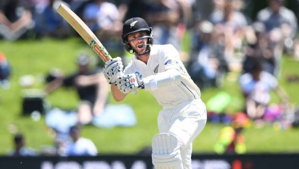 Williamson, Raval push NZ towards victory in first test