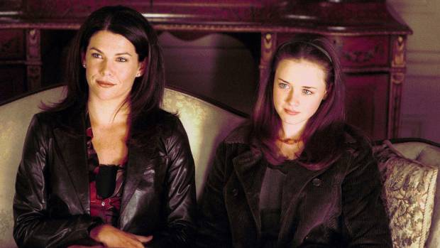 Lorelei and Rory (Lauren Graham and Alexis Bledel) are back in the Gilmore Girls revival.