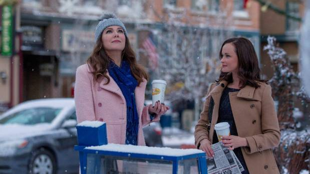 A scene from Gilmore Girls: A Year in the Life, now streaming on Netflix.