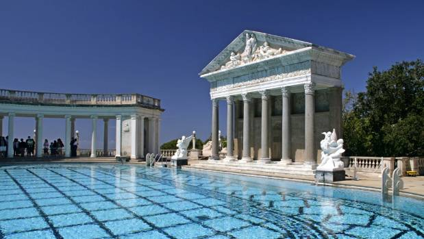 Neptune Pool at Hearst Castle is a re-imagining of a Roman grotto.