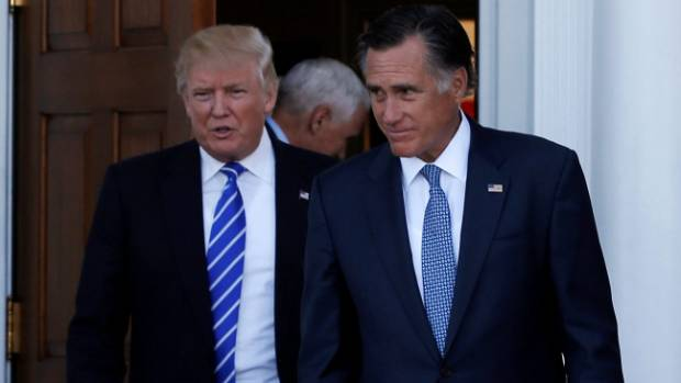 If Mitt Romney is offered and agrees to serve as Secretary of State, it will not be to implement Trump's reckless and ...