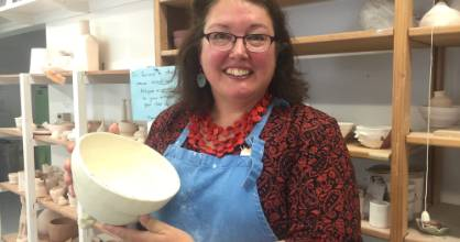 Canterbury Potters' Association tutor Jane McCulla says potting has spiked in popularity.