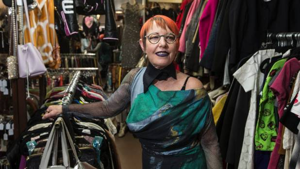 """Hunters and Collectors owner Christina O has run the business on Cuba St for 30 years.  """"It would have been depressing ..."""