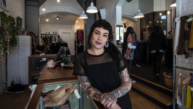 Paper Bag Princess manager Jacquie Fee said shoppers didn't need to worry, with a couple of frames and mannequins the ...