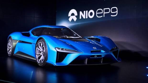 nextev nio ep9 electric car smashes nurburgring mark. Black Bedroom Furniture Sets. Home Design Ideas