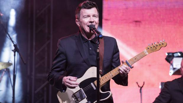 Rick Astley is 'never gonna give up' on that song.