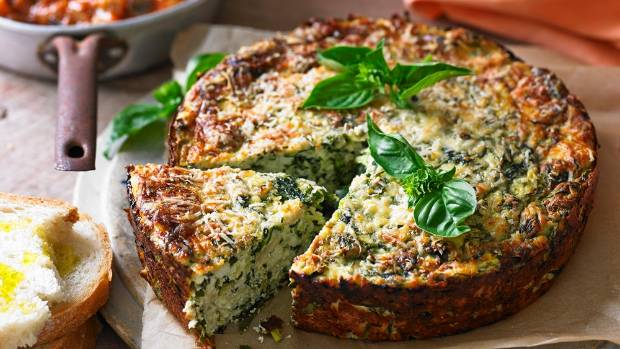 Perfect for the picnic basket, or fresh and warm for lunch, this savoury cake will keep everyone happy.