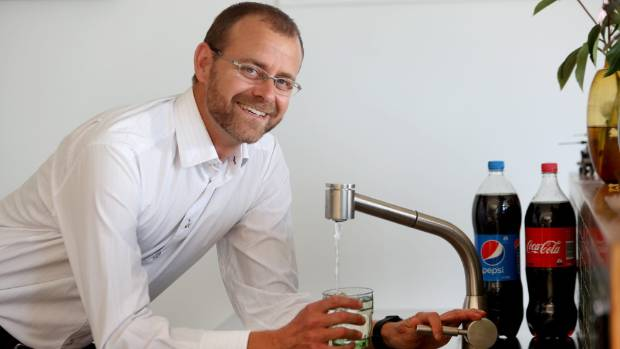 Dr Rob Beaglehole has helped make water the first choice for staff at the World Health Organisation.