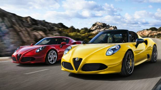 Alfa's rare 4C is like a scale-model supercar: low, made from exotic materials and oh-so-exciting.
