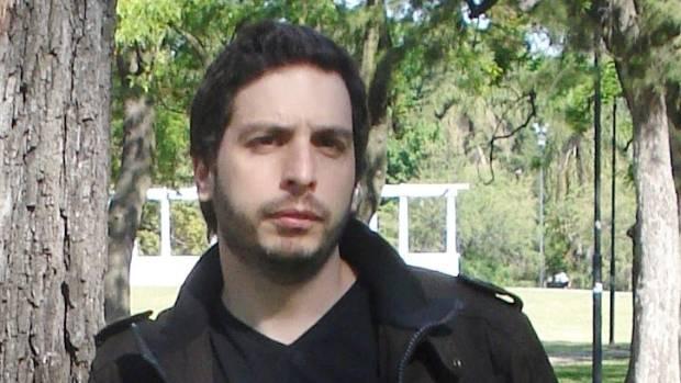 Writer Federico Axat.