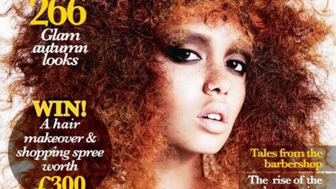 Blackhair Magazine Apologises For Using White Model On