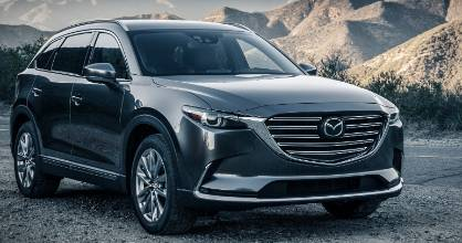 New-gen styling has made the large CX-9 look positively athletic.
