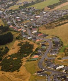 Infometrics says Palmerston North's Kelvin Grove is transforming from a semi-rural lifestyle area to residential.
