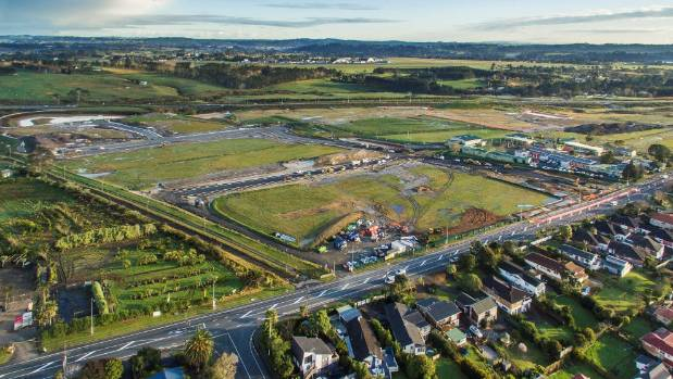 "Hobsonville is set to ""really take off"" over the next five years, Infometrics says."
