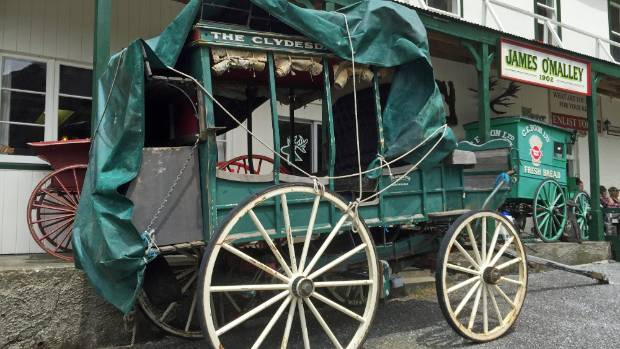 The era of the stagecoach will come alive again at Otira if Lester Rowntree's plans work out.