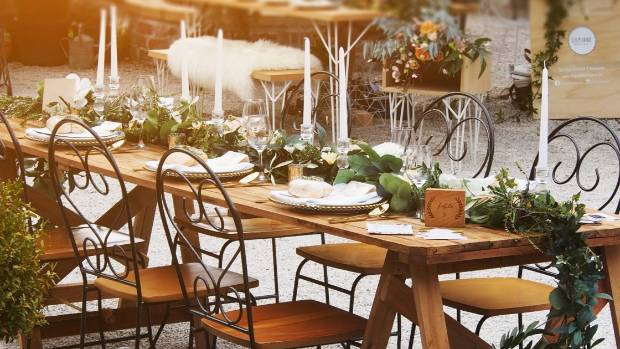 Rustic styling has now evolved into something more elegant.