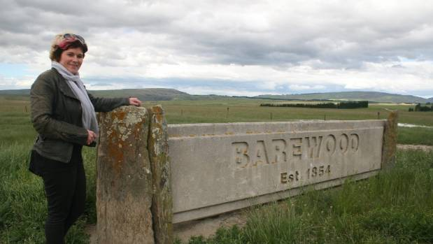 Aimee Charteris, a geneticist working with the Omega Lamb Programme, visits  Barewood Station near Middlemarch.