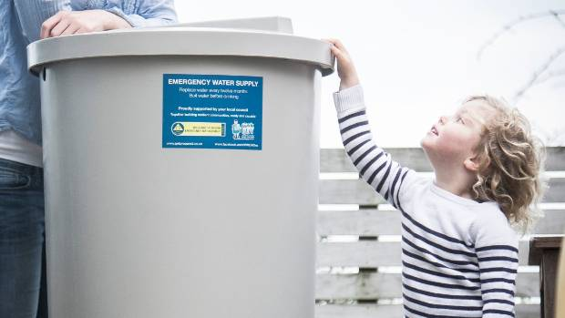 Emergency water tanks can cost between $100 and $1000.