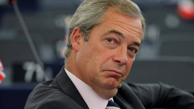 DASHING: The rise of UKIP could have been partly attributed to former leader Nigel Farage's suave looks.