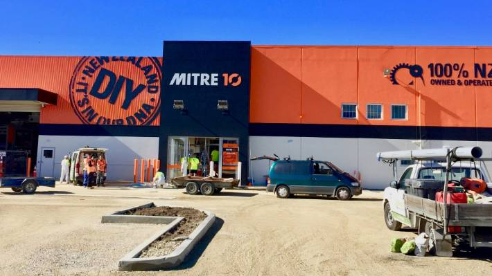 Motueka Mitre 10 open after community renovation help | Stuff co nz