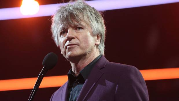 SYDNEY, AUSTRALIA - NOVEMBER 23:  Crowded House frontman Neil Finn thanked Grande and Cyrus for performing one of his ...