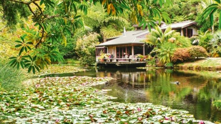 Russell Fransham's Northland garden is the one he dreamed of as a child