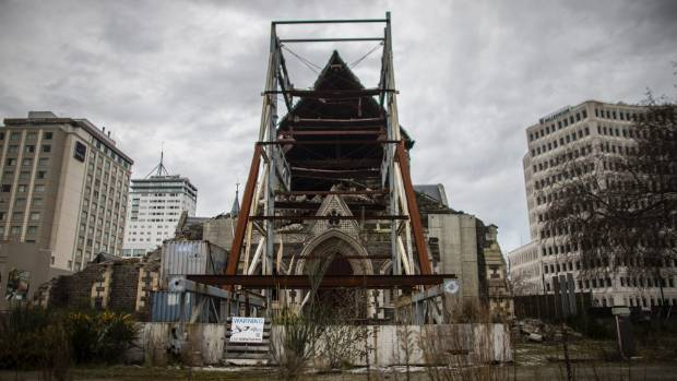 The Christ Church Cathedral has been sitting damaged in the city centre for nearly six years.