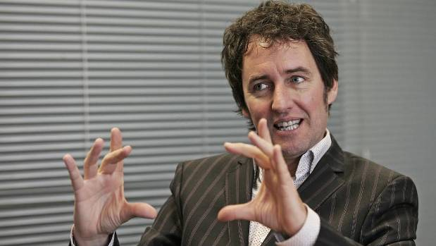 Mike Hosking was not impressed with the state of PJ Harding's vehicle.