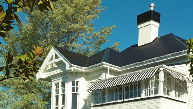 After the eight original chimneys on this heritage home collapsed in the Christchurch earthquakes, its owners replaced ...