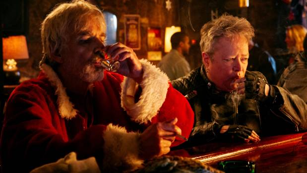 Billy Bob Thornton's antics are greatly supported by a terrific turn from Kathy Bates in Bad Santa 2.