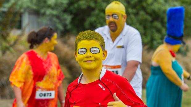It was Kieran Blatch's idea for the family to dress as The Simpsons in last year's Summer Starter. This year they will ...