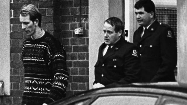 David Bain shortly after the murders of which he would be found guilty then not guilty, at two trials 14 years apart.