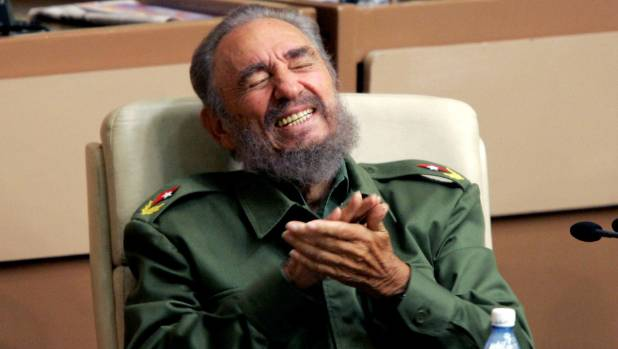 Cuban President Fidel Castro died on Friday (NZ time).
