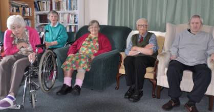 Thelma Coster, 87, (in the wheelchair), May Pickford, 82, Irene Pickford,62 and  Peter Fox, 83, will have to find a new ...