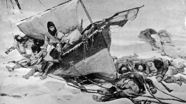 The expedition was beleaguered by thick ice and Franklin died in June 1847 and most of the team died of starvation, as ...