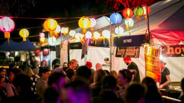 Queenstown Night Noodle Markets in November last year.
