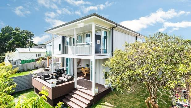 This house in Auckland's Point Chevalier was renovated on The Block in 2014 and sold again in April 2015 for $1.62 million.