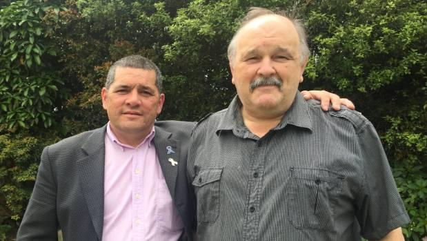 Pastors John Stone, left, and Warren Sanders of Te Whare O Te Redeemed Fellowship.